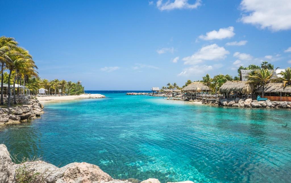 Curaçao lagoon zee strand