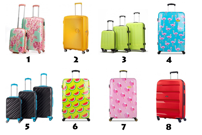 Opvallende koffers