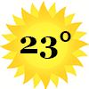 zonnetje 23 graden