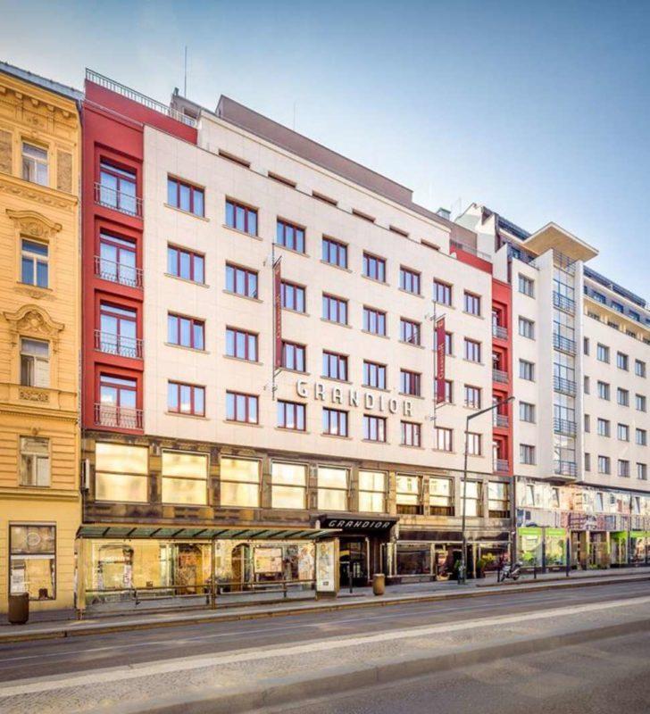 prague grandior hotel voorkant