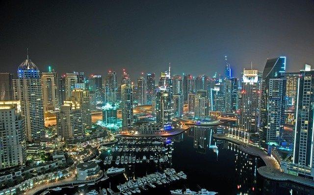 Wolkenkrabbers Dubai